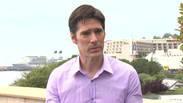 thomas gibson on being the most unfunny guy on tv, on his criminal minds character, taking his responsibilities very seriously at the 51st... - thomas gibson stock videos & royalty-free footage