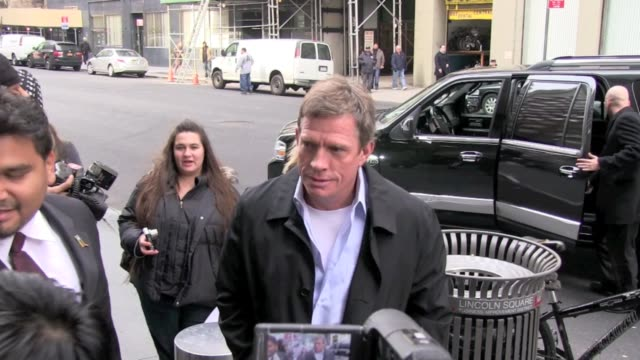 Thomas Haden Church at the Mandarin Oriental Hotel in New York on