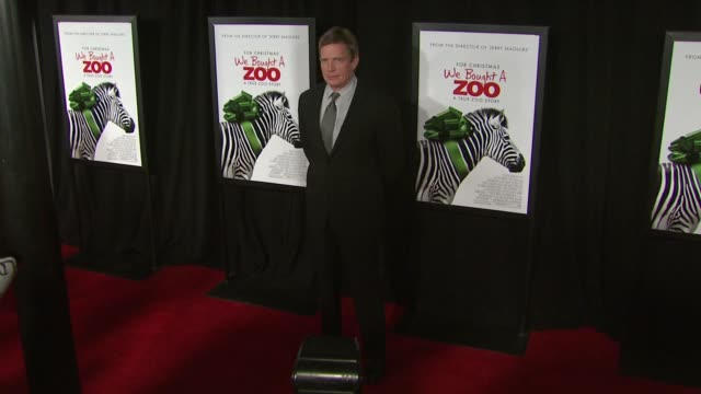 Thomas Haden Church at 'We Bought A Zoo' Premiere Red Carpet New York NY United States