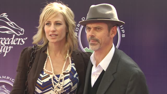 c thomas howell at the breeders' cup world thoroughbred championships at arcadia ca - championships stock videos & royalty-free footage