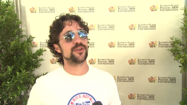 Thomas Ian Nicholas on today's event on the work EGPAF does and on what he's looking forward to at 23rd Annual 'A Time For Heroes' Celebrity Picnic...