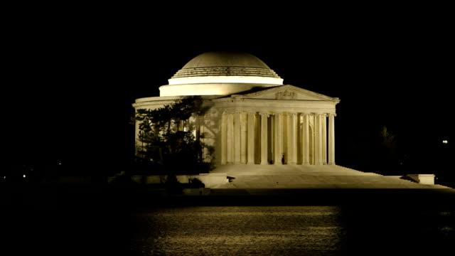 Thomas Jefferson Memorial bei Nacht