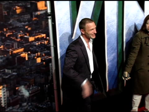 Thomas Kretschmann at the 'King Kong' New York Premiere at Loews EWalk and AMC Empire Cinemas in New York New York on December 5 2005