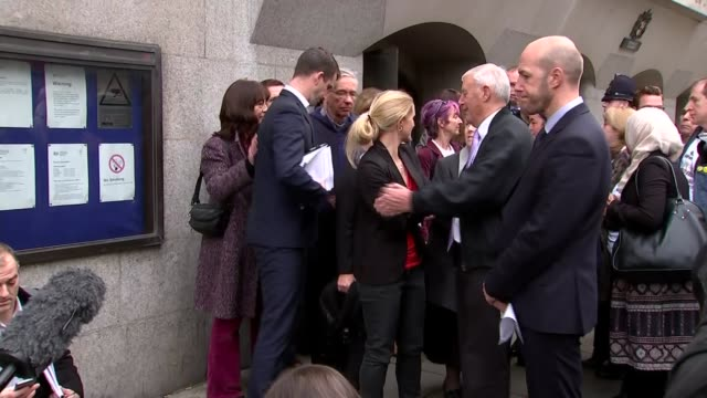 family statements brendan cox statement ends and family into court together - thomas mair stock videos and b-roll footage