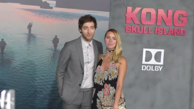 Thomas Middleditch and Mollie Gates at Dolby Theatre on March 08 2017 in Hollywood California
