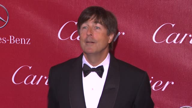 thomas newman at the 25th annual palm springs international film festival awards gala presented by cartier in palm springs, ca on 1/04/14 - cartier stock videos & royalty-free footage
