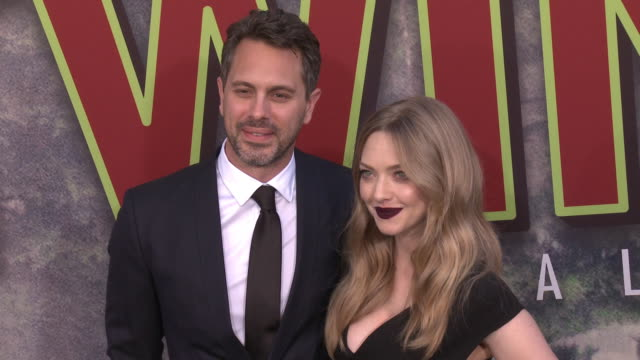 Thomas Sadoski and Amanda Seyfried at The World Premiere of the new Showtime LimitedEvent Series Twin Peaks at Ace Hotel on May 19 2017 in Los...