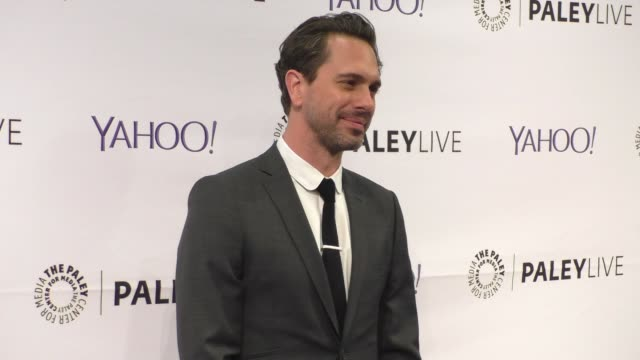 thomas sadoski at the paleylive an evening with life in pieces at the paley center for media in beverly hills at celebrity sightings in los angeles... - paley center for media los angeles stock videos & royalty-free footage