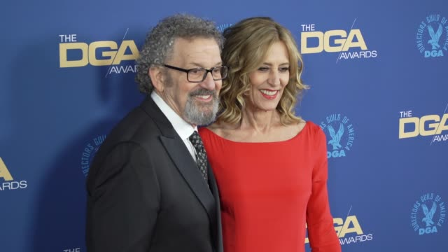 thomas schlamme and christine lahti at the 71st annual dga awards at the ray dolby ballroom at hollywood highland center on february 02 2019 in... - director's guild of america stock videos & royalty-free footage