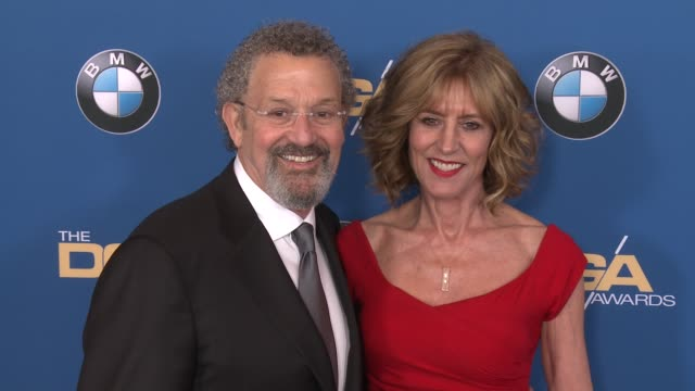 thomas schlamme christine lahti at 69th annual directors guild of america awards in los angeles ca - directors guild of america awards stock videos & royalty-free footage
