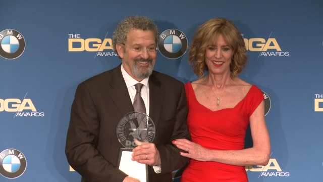 thomas schlamme, christine lahti at 69th annual directors guild of america awards in los angeles, ca 2/4/17 - director's guild of america stock videos & royalty-free footage
