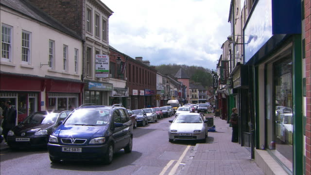thomas street in armagh, northern ireland - county armagh stock videos and b-roll footage
