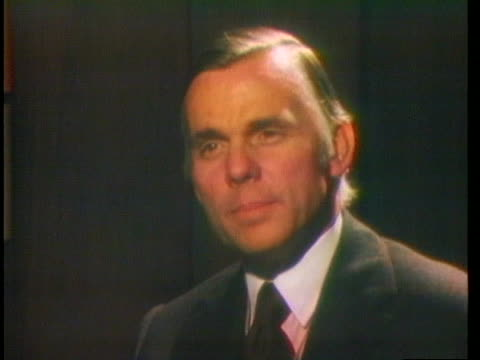 thomas vail comments on richard nixon's role in watergate and his paper's editorial calling for nixon's impeachment. - editorial stock videos & royalty-free footage
