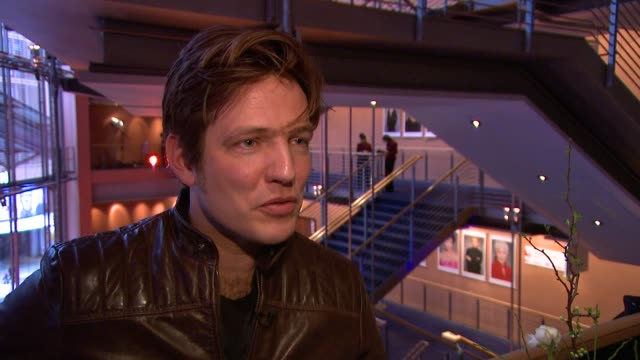 thomas vinterberg on the general feedback from the audience, on being glad to be at the festival, on staying focused on work, on the story of the... - vulnerability stock videos & royalty-free footage