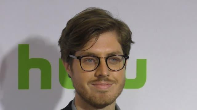 Thomas Wood at the 2017 Winter Television Critics Association Tour Hulu Press Day at Langham Hotel on January 07 2017 in Pasadena California