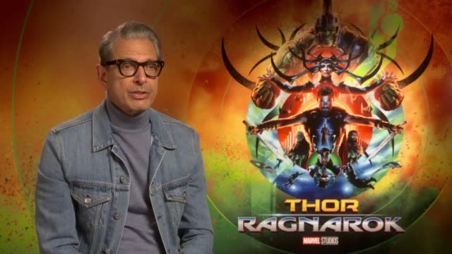 Thor star Jeff Goldblum talks about whether his role will become memeworthy enough to add to his catalogue of memes while director Taika Waititi...