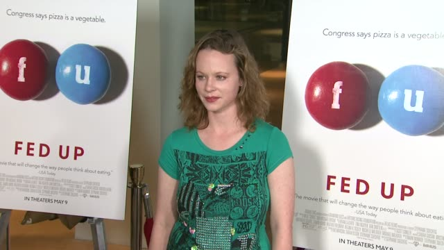 Thora Birch at the Fed Up Los Angeles Premiere at Pacific Design Center on May 08 2014 in West Hollywood California