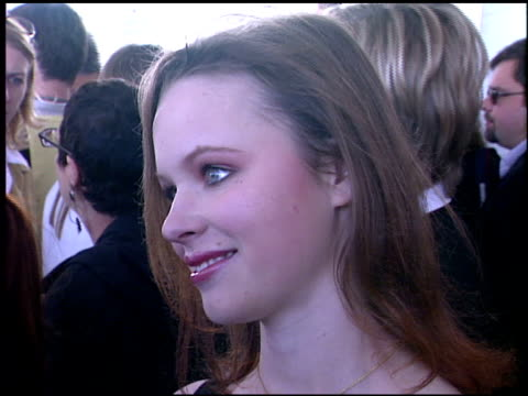 Thora Birch at the Independent Spirit Awards on March 23 2002