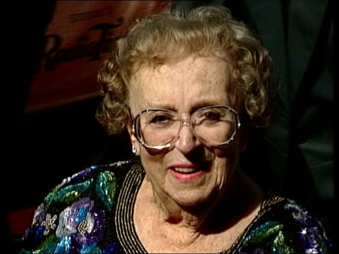 thora hird funeral; lib england: london int thora hird along in wheelchair - thora hird stock videos & royalty-free footage