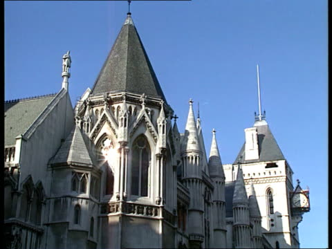 thornton appeal fails england london high court gv court ms entrance la ms building pull out cms julie bindel intvwd sof wants change in law - inghilterra video stock e b–roll