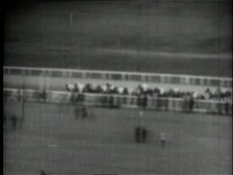 MONTAGE thoroughbreds running Santa Anita Handicap / Arcadia California United States