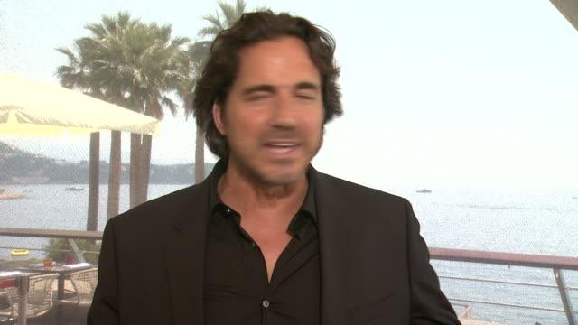 thorsten kaye on many daytime shows being the same. on what makes the bold and the beautiful different, on shooting in different locations around the... - day 2 stock videos & royalty-free footage