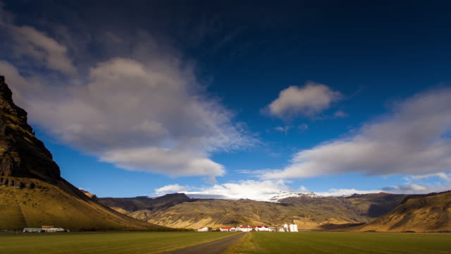 thorvaldseyri, iceland - time lapse - landscape stock videos & royalty-free footage