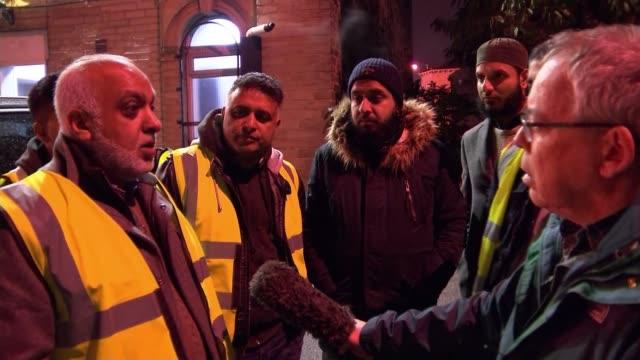 vidéos et rushes de a thousand attacks against fire crews occurred across england and wales last year uk west yorkshire andy ellis hamzah khan saleem ali shoaib imran... - équipage de bateau