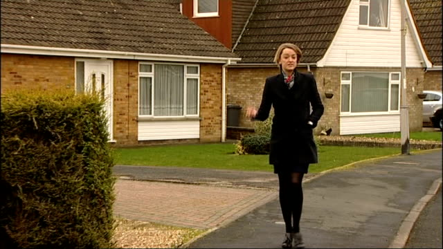 130 thousand homeowners made a loss on house sales since 2007 Peterborough Reporter to camera Reporter knocking on front door Ruth Hall set up shots...