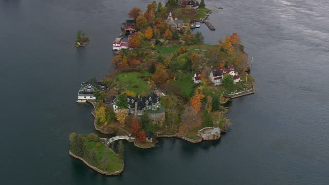 Thousand Islands Near Alexandria Bay