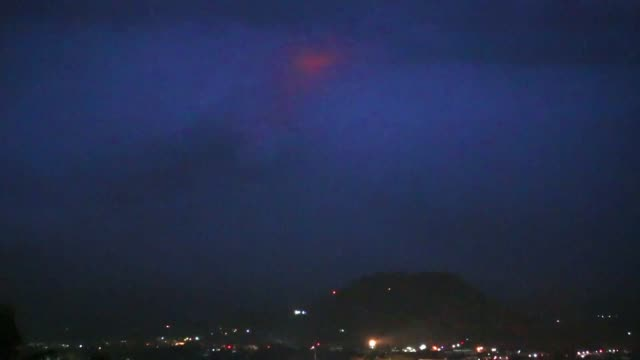 Thousands flee from their homes as lava oozes out of a rumbling Philippine volcano in what volcanologists describe as a quiet eruption warning it can...