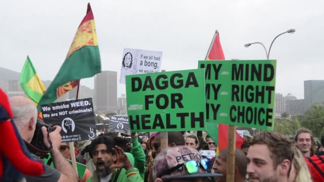 Thousands of cannabis users march through Cape Town calling for the drug to be made legal as the government prepares to appeal a court ruling which...