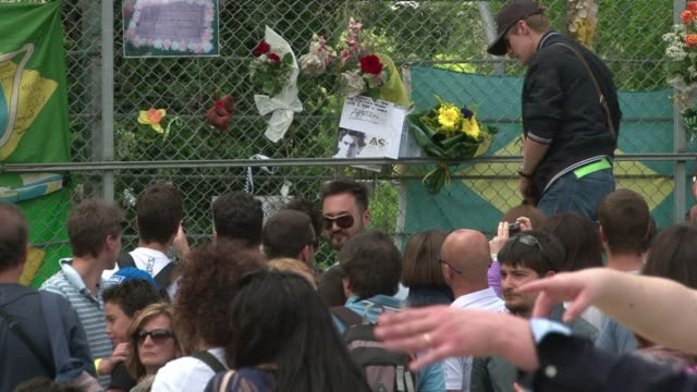 Thousands of Formula One fans gathered on Thursday for a commemoration at the Imola circuit 20 years to the day after Brazilian champion Ayrton Senna...