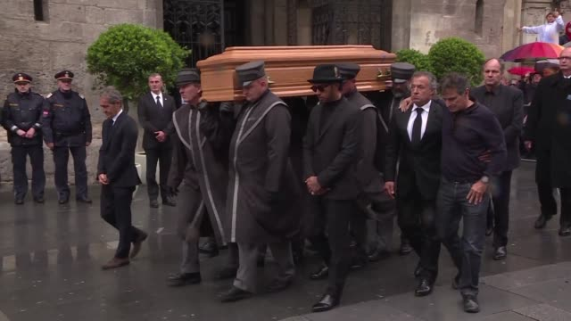 thousands of mourners including motor racing world champion lewis hamilton bid farewell to formula one legend and austrian national hero niki lauda... - national icon stock videos and b-roll footage