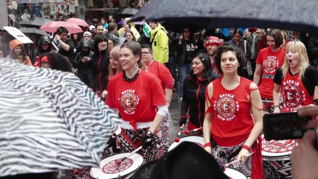 Thousands of people gathered in the Columbus Circle vicinity for the National and Global Science March on Earth Day Throughout the event people...