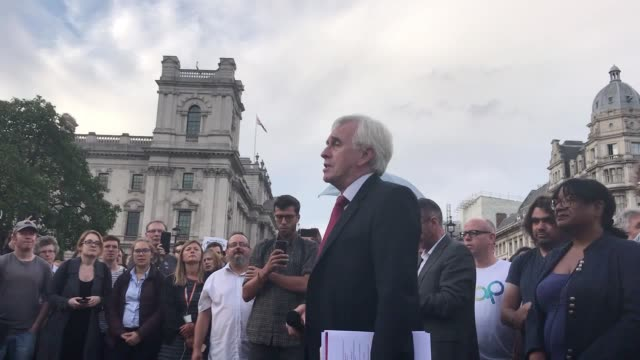 thousands of people have protested against plans to suspend parliament in rallies in london edinburgh and other cities within hours of boris johnson... - boris johnson stock videos and b-roll footage