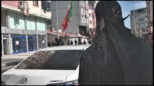 thousands of people on september 20 2018 marked the anniversary of the martyrdom of imam alhussein in kars eastern province of turkey thursday is the... - imam hussein stock videos and b-roll footage