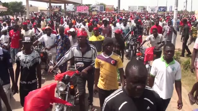 Thousands of people take to the streets in Togo's capital Lome in the latest protest calling for the long standing President Faure Gnassingbe to step...