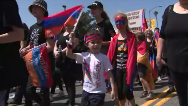 Thousands of people will march through Hollywood and the MidCity area Wednesday to mark the 104th anniversary of the Armenian genocide again calling...
