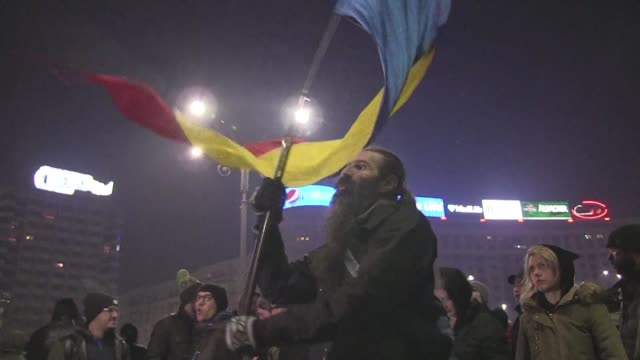 Thousands of Romanians take to the streets after the government issues a controversial emergency decree reducing the penalties for corruption in a...