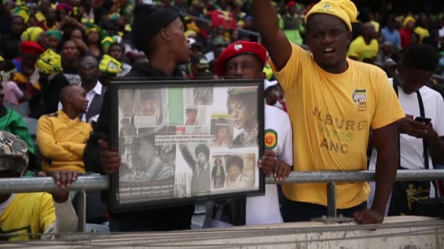 Thousands of South Africans have gathered at a stadium in Johannesburg to pay tribute to former antiapartheid activist Winnie MadikizelaMandela who...