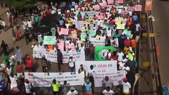 GNB: G. Bissau protesters call for election winner to form government