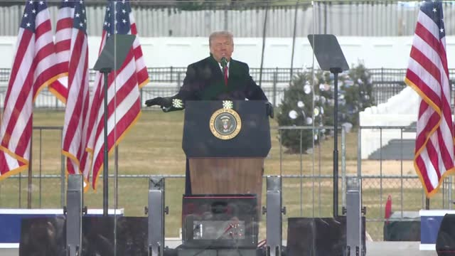 thousands of trump supporters gathered in us capital on wednesday, jan. 6, when president-elect joe biden was to formally receive votes in congress... - political rally stock videos & royalty-free footage