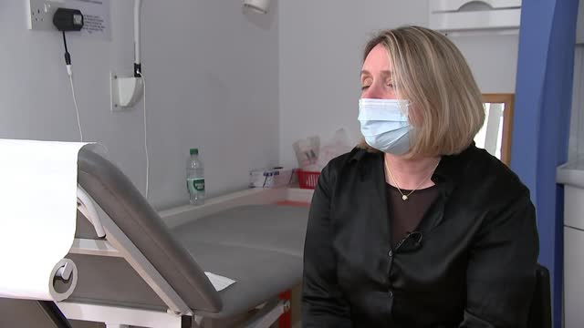 thousands of women to trial at-home smear tests in bid to cut cervical cancer; england: london: int clare stephens interview sot cutaways smear... - cut video transition stock videos & royalty-free footage
