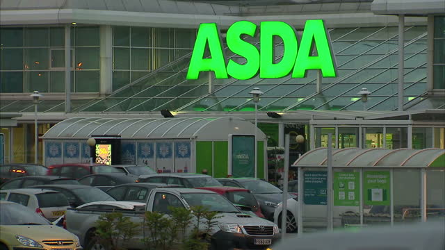 thousands of women who work at the supermarket giant asda are moving forward with their claims for equal pay after an employment tribunal victory... - michael fawcett stock videos and b-roll footage