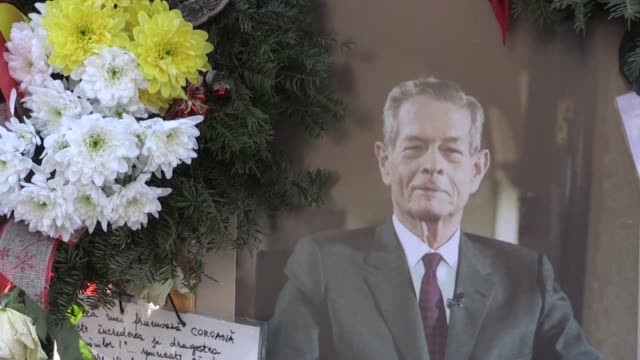 Thousands turn out for the state funeral of Romania's beloved former king Michael who recently died in Switzerland aged 96