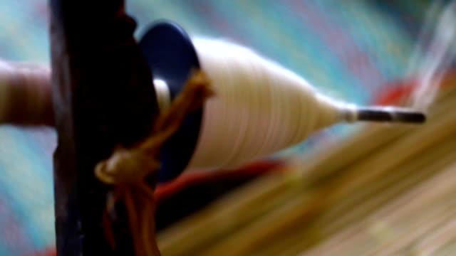 thread for weaving, Thailand
