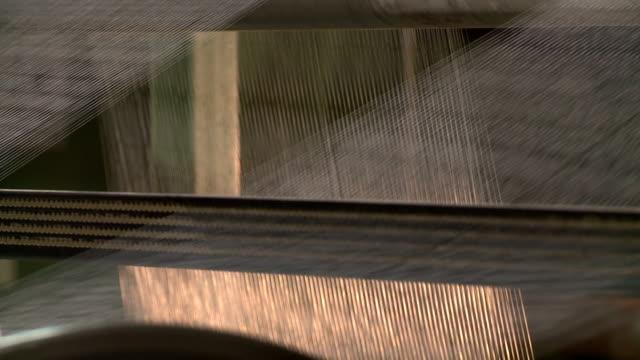 linee di filetto - filo articolo di merceria video stock e b–roll