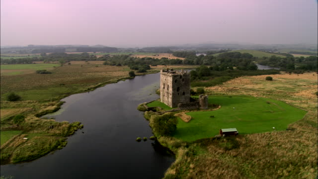 threave castle - galloway scotland stock videos & royalty-free footage