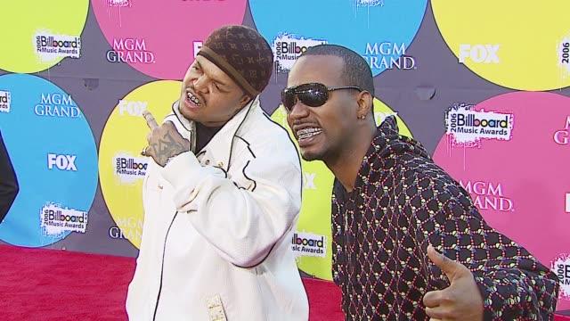 three 6 mafia at the 2006 billboard music awards at the mgm grand hotel in las vegas nevada on december 4 2006 - three 6 mafia stock videos and b-roll footage